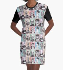 Classic Monster Collection Graphic T-Shirt Dress