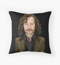 Sirius Black is My Home Dog Throw Pillow