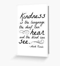 Kindness Greeting Card