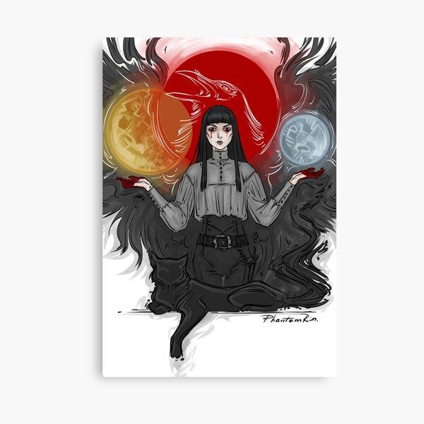3 suns Canvas Print