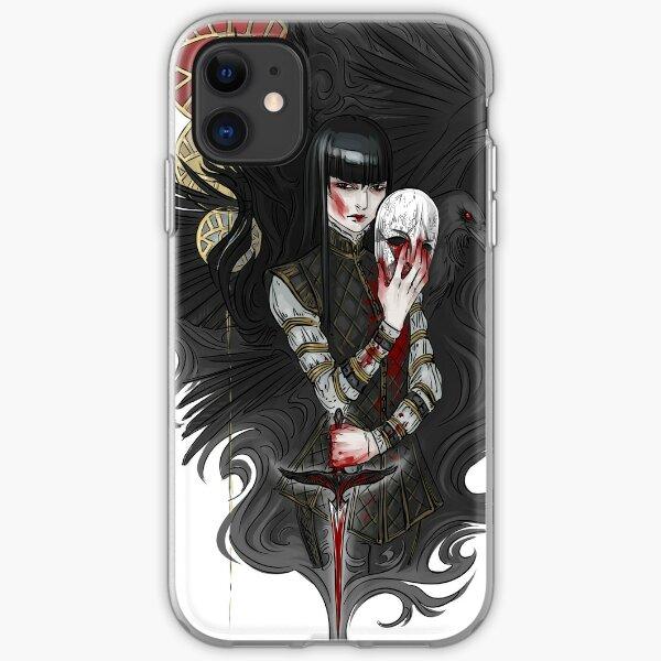 dagger & mask iPhone Soft Case