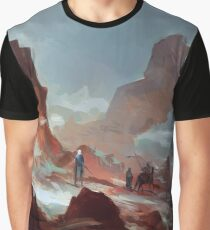 Red Mountains Graphic T-Shirt