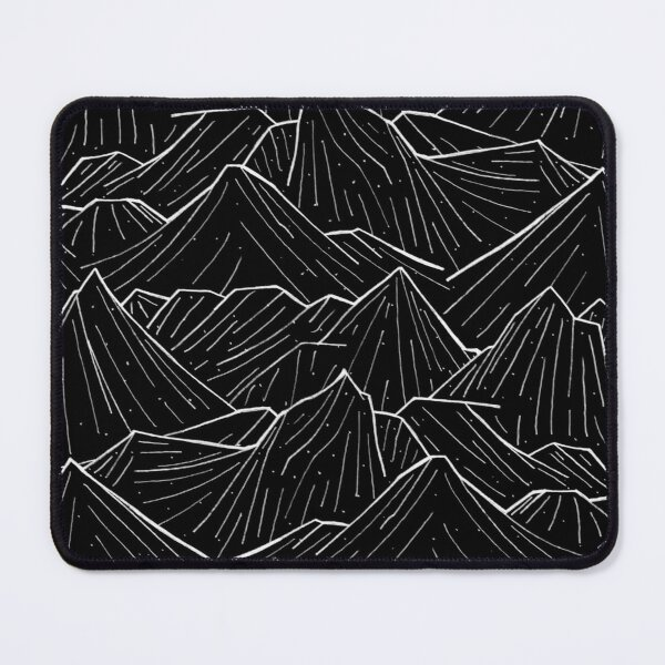 The Dark Mountains Mouse Pad