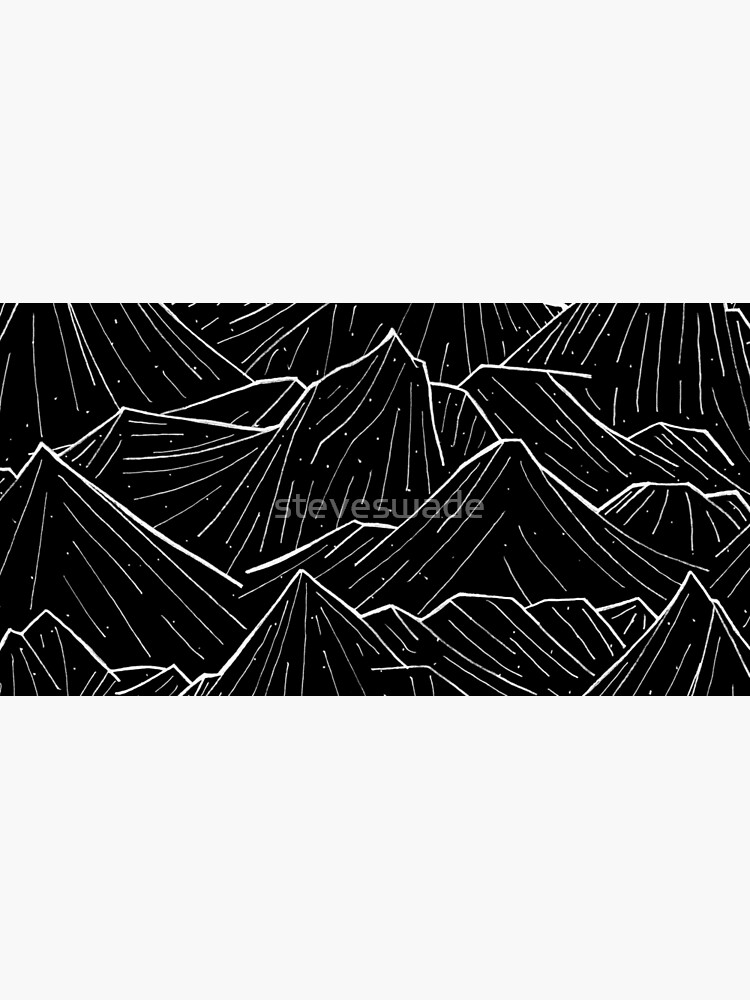 The Dark Mountains by steveswade