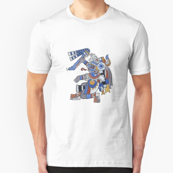 Tlaloc - He Who Makes Things Sprout Slim Fit T-Shirt