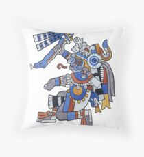 Tlaloc - He Who Makes Things Sprout Throw Pillow