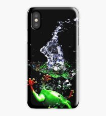 Frogger Splash iPhone Case