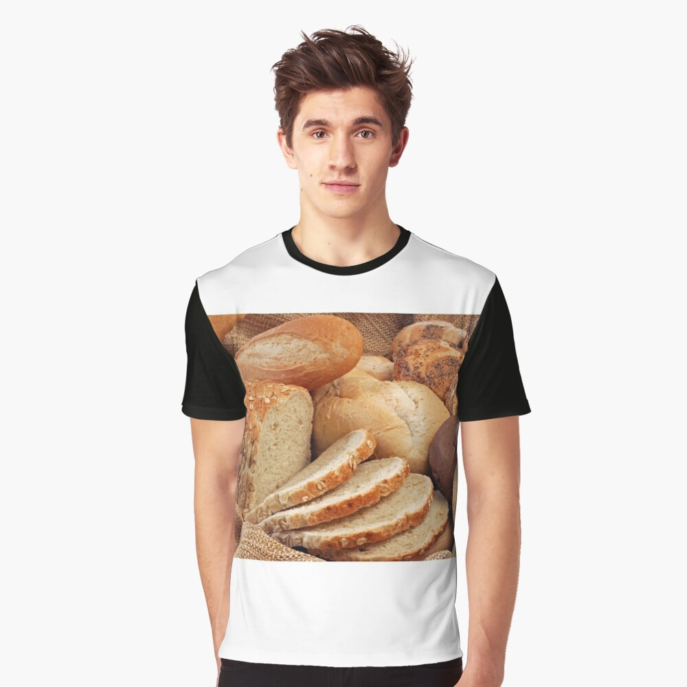 Bakery Graphic T-Shirt Front