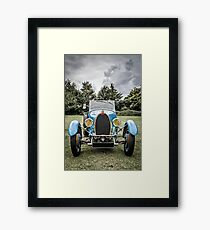 Vintage Automobile Framed Print