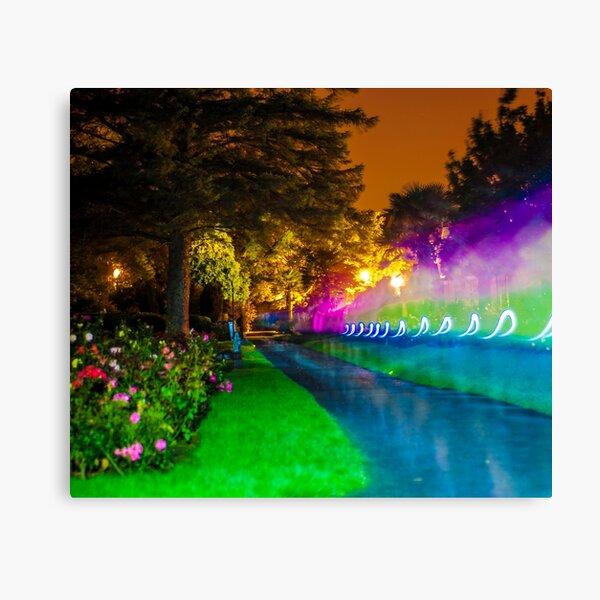 Rainbows at Night Canvas Print