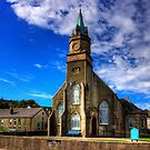 Ardrishaig Parish Church by Tom Gomez