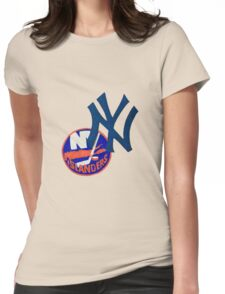 islanders and yankees Womens Fitted T-Shirt