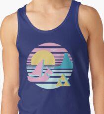 Great Sea Sunset Men's Tank Top