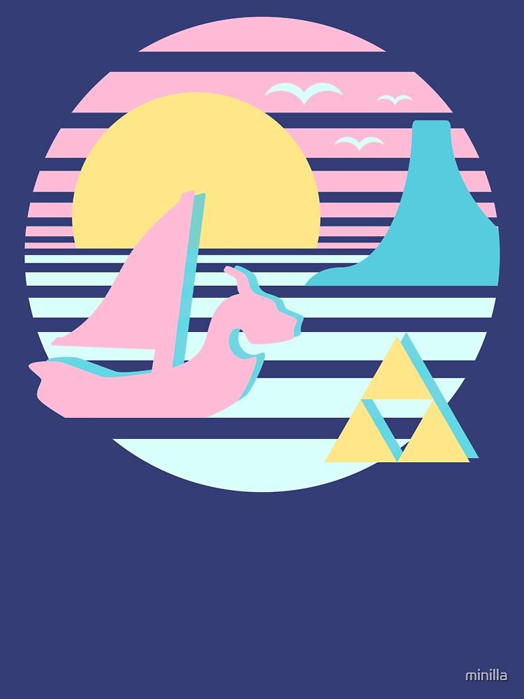 Great Sea Sunset by minilla