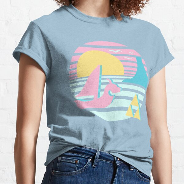 Great Sea Sunset Classic T-Shirt