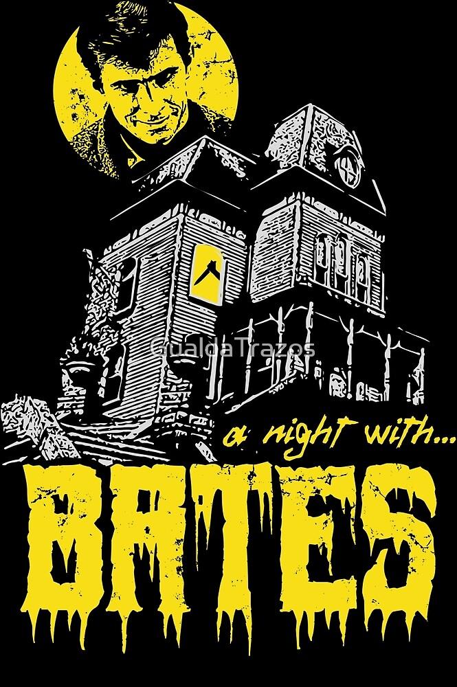 «A night with Bates» de GualdaTrazos