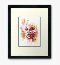 Glare Framed Print