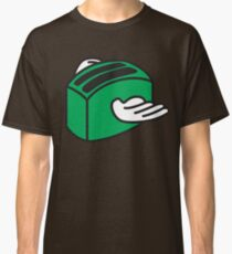Flying Toaster - Green Classic T-Shirt