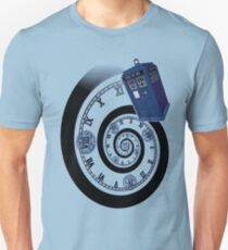 The Twelfth Doctor - time spiral (no white outline) Unisex T-Shirt