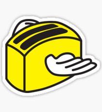 Flying toaster Sticker