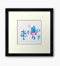 GiantYeti Framed Print