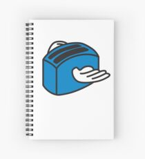 Flying toasters Spiral Notebook
