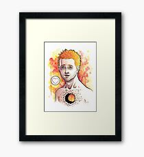 Where My Heart Used To Be Framed Print