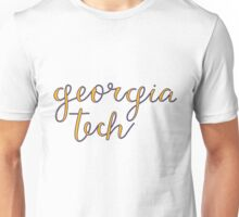 georgia tech Unisex T-Shirt