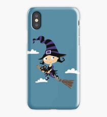 Little Cute Witch - Cute Little Witch iPhone Case