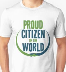 Proud Citizen of the World Unisex T-Shirt