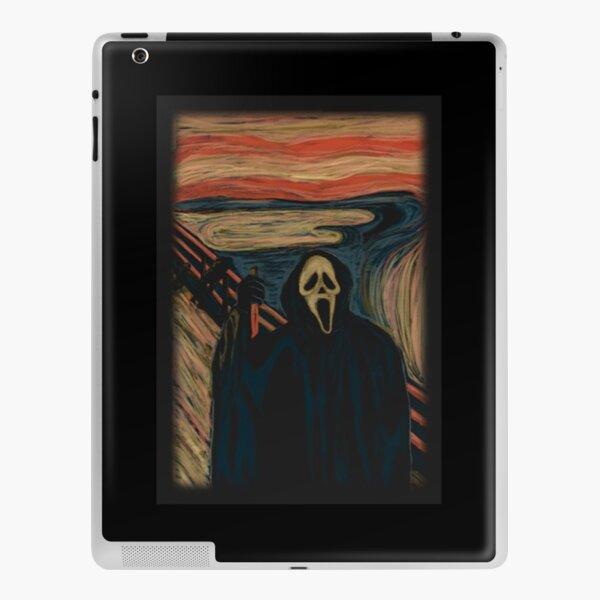 Screaming Ghostface T-Shirt  Perfect Gift  Ghostface gift iPad Skin