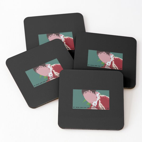 Scream   Perfect Gift  Ghostface gift Coasters (Set of 4)