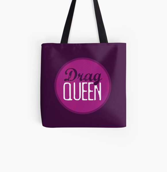 Drag Queen All Over Print Tote Bag