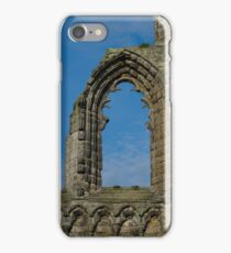 Window In St Andrews Cathedral iPhone Case/Skin