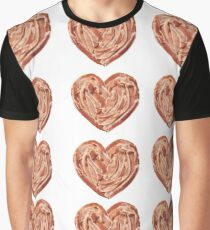 Bacon Hearts Graphic T-Shirt