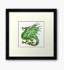 Fire Dragon Framed Print