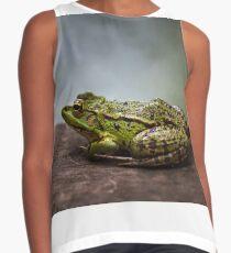 Green frog outdoor Contrast Tank