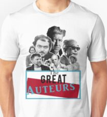 Great Auteurs - Filmmakers (WITH outline) T-Shirt