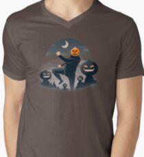 Pumpkin Hill Men's V-Neck T-Shirt