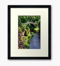 Bridge over the Doon Framed Print