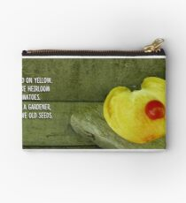 """Not """"just tomato"""". Studio Pouch"""