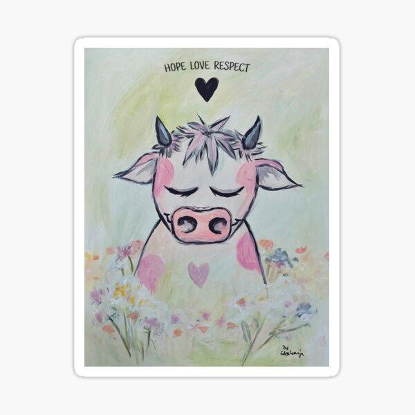 Wildblumenwiese Sticker