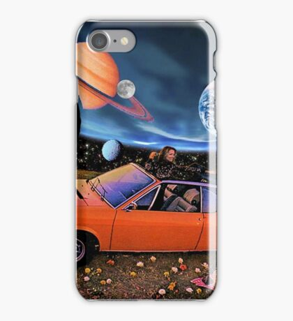 Planetary picnic iPhone Case/Skin