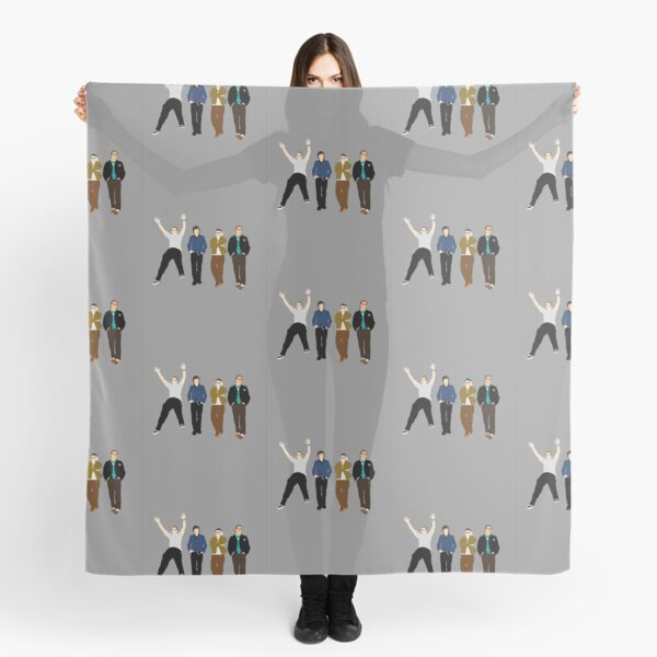 Weezer American Rock Band Scarf
