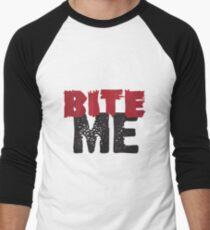 Bite Me Men's Baseball ¾ T-Shirt