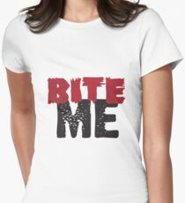 Bite Me Women's Fitted T-Shirt