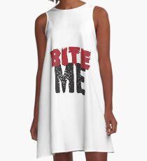 Bite Me A-Line Dress