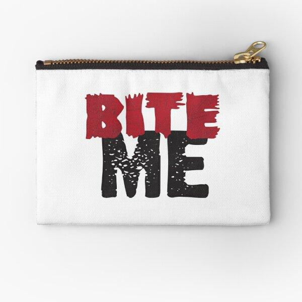 Bite Me Zipper Pouch