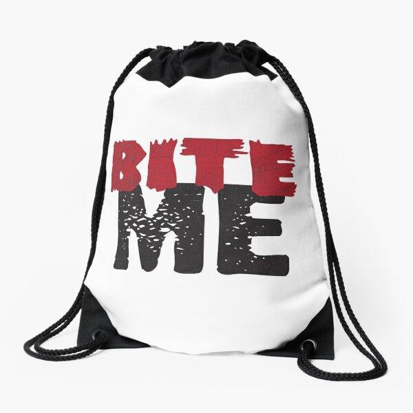 Bite Me Drawstring Bag