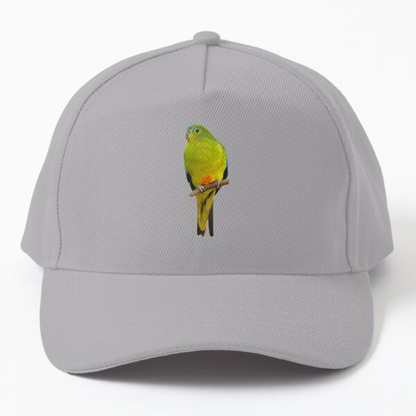 Orange-bellied Parrot Baseball Cap